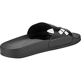 arena Team Stripe Slide Sandals black-black-white